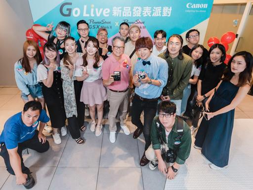 GO Live 影音新世代 圈粉利器 Canon 高畫質類單眼相機 PowerShot G 系列 人氣登場