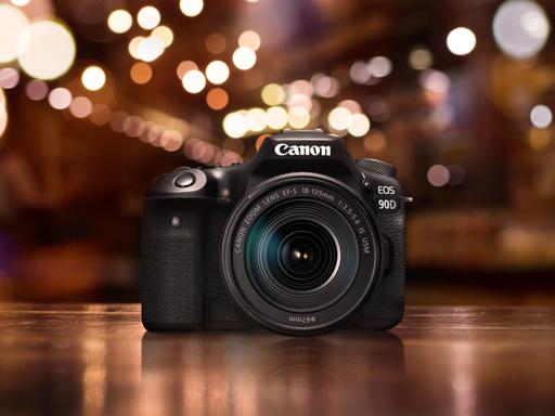 【Focus X Speed 瞬時聚焦 高速撼動】 Canon 新款 APS-C 數位單眼相機 EOS 90D 極速上市