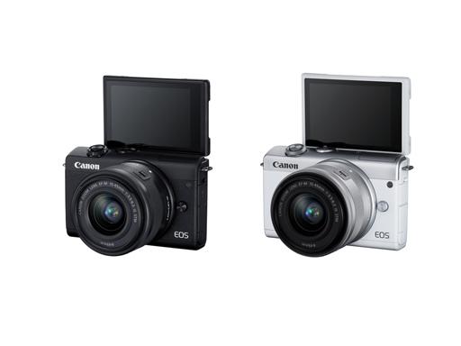 【新品快訊】Canon 全球宣布推出全新 EOS M200 輕巧自拍 4K 微單眼相機