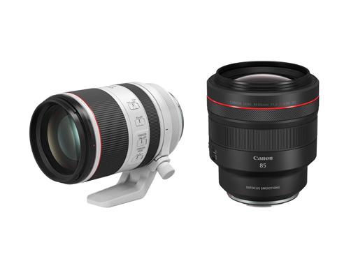 Canon 推出兩款全新專業 RF 鏡頭 RF 70-200mm f/2.8L IS USM 及 RF 85mm f/1.2L USM DS