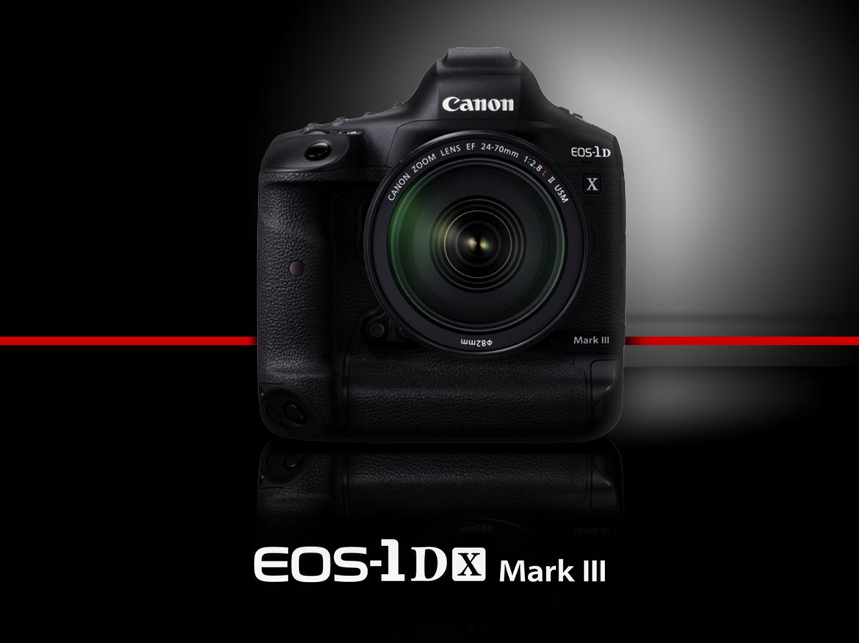 決勝瞬間 極速捕捉 Canon 全片幅機皇 EOS-1D X Mark III 隆重登場