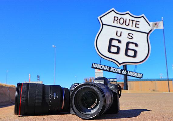 帶著 EOS R 及 RF 鏡頭 暢遊美國 66 號公路 3939 公里
