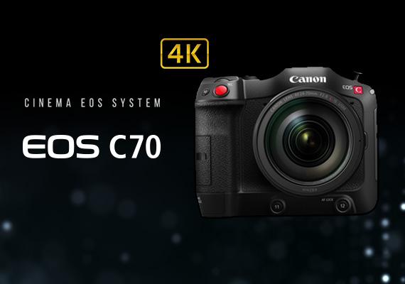 Canon 全新推出 4K 專業級數位攝影機 EOS C70