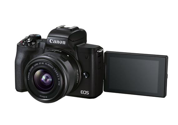 Canon EOS M50 Mark II 全新 VLOG 相機及 Speedlite EL-1 旗艦級閃光燈隆重推出