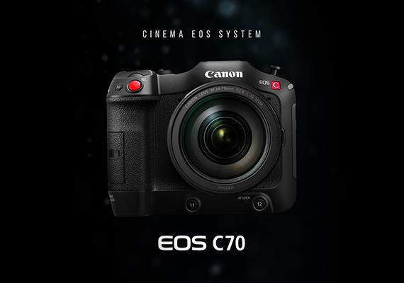 4K電影級數位攝影機 Canon EOS C70 革命性機身正式開賣