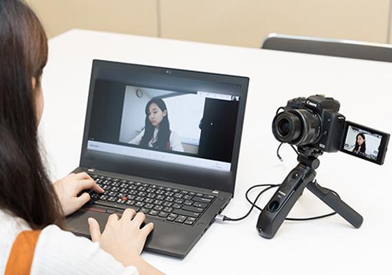 使用 Canon 相機進行居家辦公及遠距教學  EOS Webcam Utility 讓你的視訊直播畫質更好!